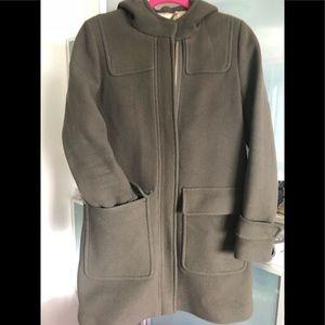 J. Crew  parka coat